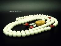 буддийские четки 108 бусин из коралла 2