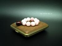 четки мини из розового кварца 1
