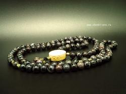 буддийские четки 108 бусин из варисцита
