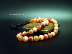 четки из сардоникса оранж